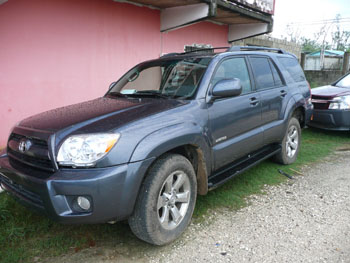 Toyoa 4 Runner Belize